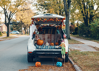 Trunk-or-Treating: Halloween in a Pandemic