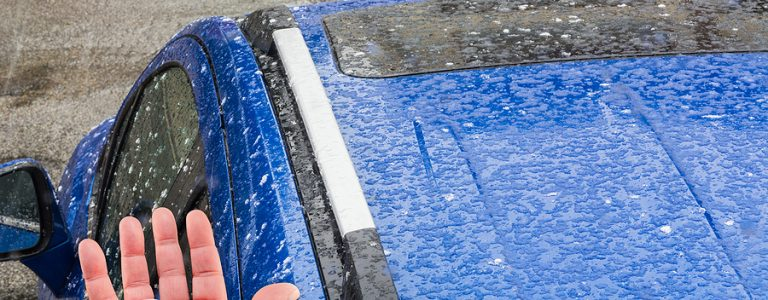 protecting your car from hail